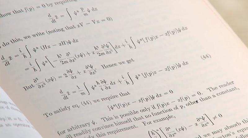 Equations of quantum mechanics