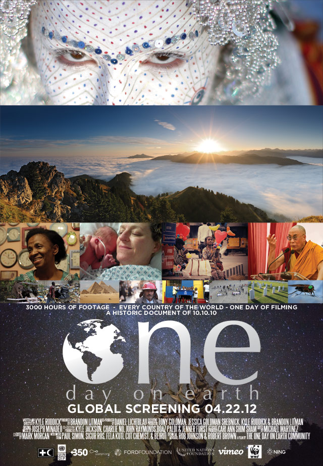 Movie poster for One Day on Earth film