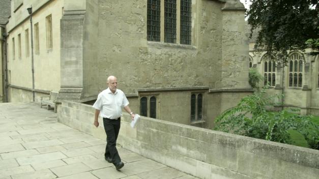 Professor Graham Ross, Wadham College Library, 2012