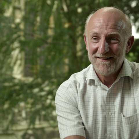 Professor Graham Ross, Wadham College Library, 2012