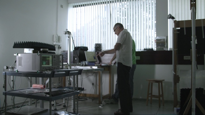Laboratory of Professor Roy Sambles at the University of Exeter