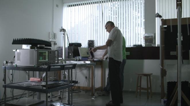 Laboratory of Professor Roy Sambles at the University of Exeter