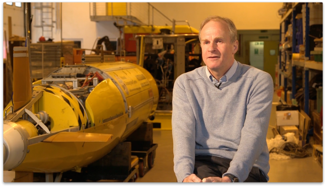 Professor Adrian New, Head of Marine Systems Modelling Group, National Oceanographic Centre, Southampton.