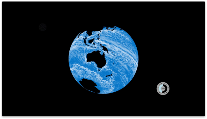 Environmental data is combined to produce a global model of the ocean.