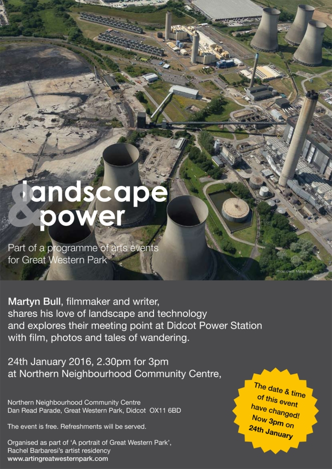 Landscape and power poster