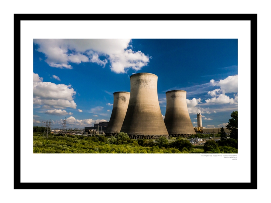Cooling Towers, Didcot Power Station
