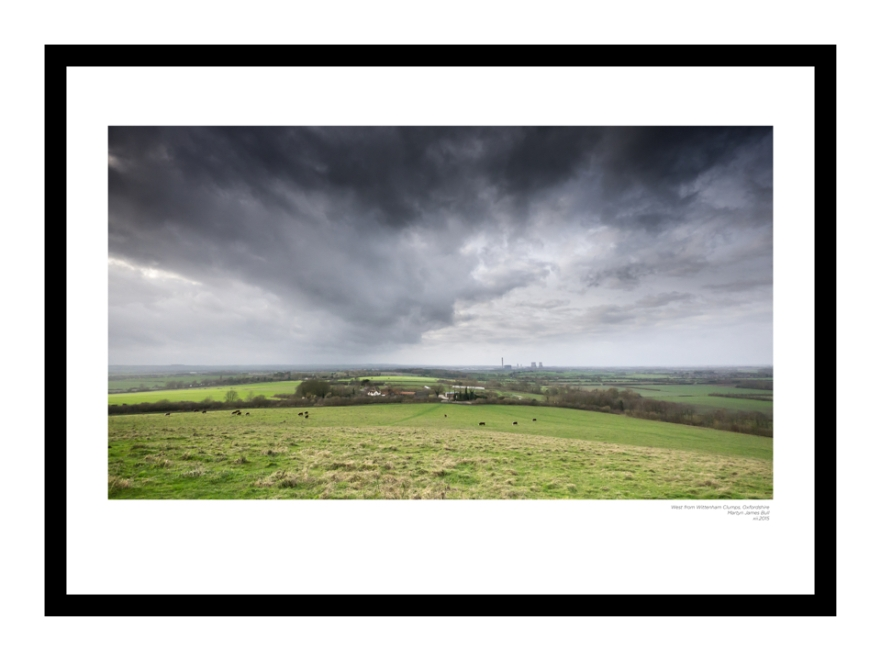 West from Wittenham Clumps